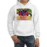 Flowers in Pot Hooded Sweatshirt