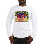 Flowers in Pot Long Sleeve T-Shirt