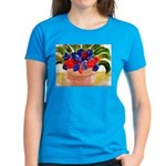 Flowers in Pot Women's Dark T-Shirt