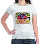 Flowers in Pot Jr. Ringer T-Shirt