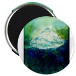 Snowy Mountain Magnet