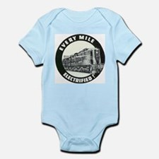 PRR EVERY MILE ELECTRIFED Infant Creeper