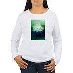 Snowy Mountain Women's Long Sleeve T-Shirt