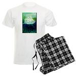 Snowy Mountain Men's Light Pajamas