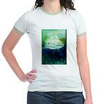 Snowy Mountain Jr. Ringer T-Shirt