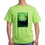 Snowy Mountain Green T-Shirt