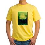 Snowy Mountain Yellow T-Shirt