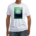 Snowy Mountain Fitted T-Shirt