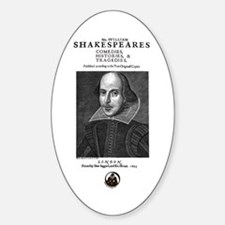 First Folio Decal