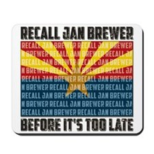 Recall Jan Brewer Mousepad