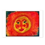 Sun Face Postcards (Package of 8)