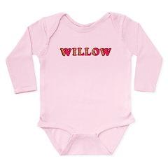Willow Long Sleeve Infant Bodysuit
