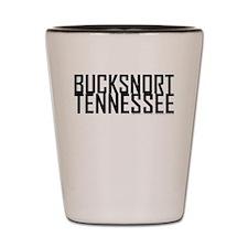 Bucksnort, TN - Shot Glass