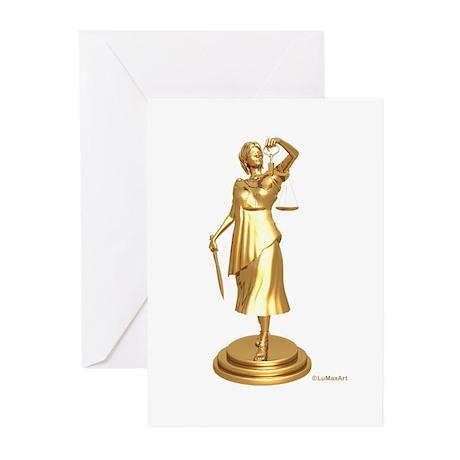 gildjustice Greeting Cards (Pk of 10)