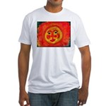 Sun Face Fitted T-Shirt