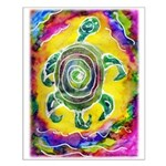 Abstract Turtle Small Poster