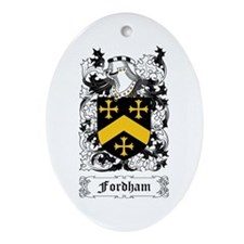 Fordham Ornament (Oval)