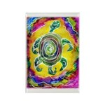 Abstract Turtle Rectangle Magnet (100 pack)