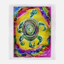 Abstract Turtle Throw Blanket