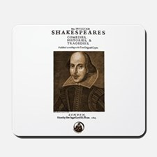 First Folio Mousepad
