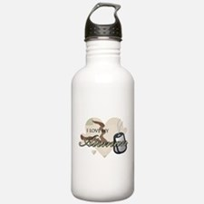 Desert Camo Hearts - AF Water Bottle