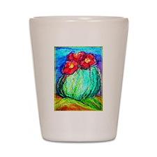 Cactus, colorful, Shot Glass