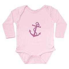 Anchor Long Sleeve Infant Bodysuit