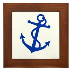 Anchor Framed Tile