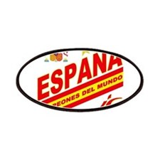 Spain World cup champions Patches