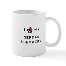 I *heart* My German Shepherd Mug
