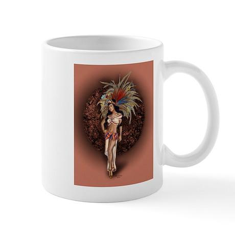 Aztec Princess Pin-Up Mug