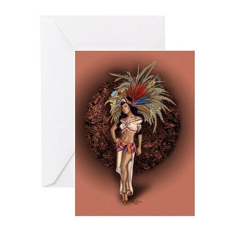 Aztec Princess Pin-Up Greeting Cards (Pk of 20)