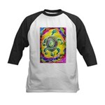 Abstract Turtle Kids Baseball Jersey