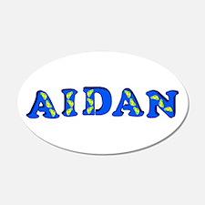 Aidan 22x14 Oval Wall Peel
