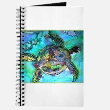 Sea Turtle, bright, Journal