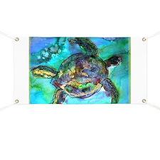 Sea Turtle, bright, Banner