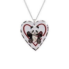 China Panda Love Necklace