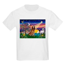 Magical Night Bloodhound Kids T-Shirt