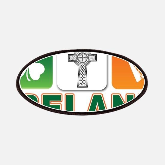 Irish pride Patches