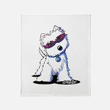 Doggles Westie Throw Blanket