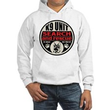 K9 Unit Search and Rescue Hoodie
