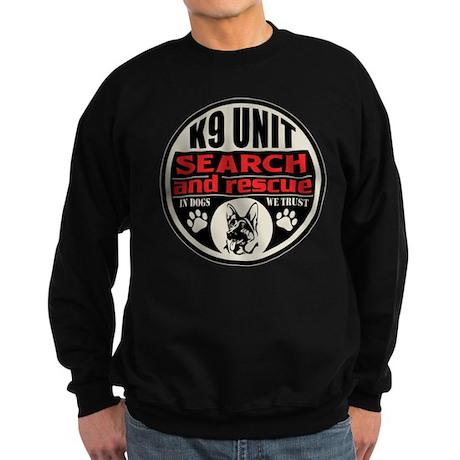 K9 Unit Search and Rescue Sweatshirt (dark)