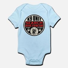 K9 Unit Search and Rescue Infant Bodysuit