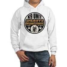 K9 In Dogs We Trust Sheriffs Dep Hoodie