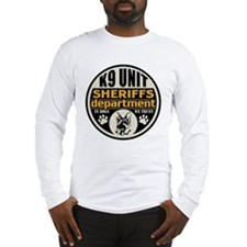 K9 In Dogs We Trust Sheriffs D Long Sleeve T-Shirt