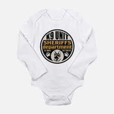 K9 In Dogs We Trust Sh Long Sleeve Infant Bodysuit