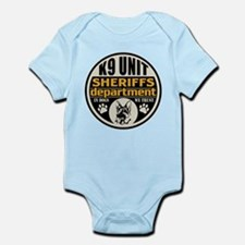 K9 In Dogs We Trust Sheriffs Depar Infant Bodysuit