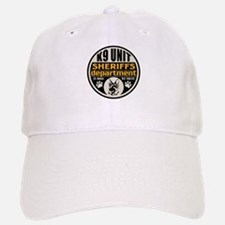 K9 In Dogs We Trust Sheriffs Department Baseball Baseball Cap