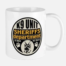 K9 In Dogs We Trust Sheriffs Department Mug