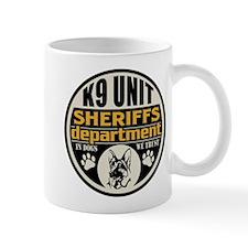 K9 In Dogs We Trust Sheriffs Department Mug